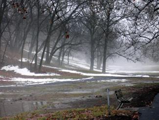 Snow and fog 2
