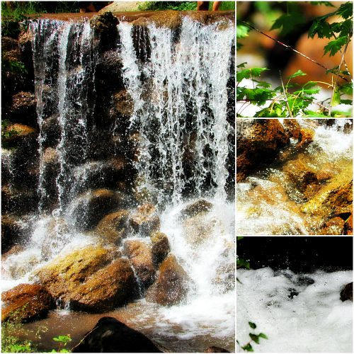Waterfall collage 2